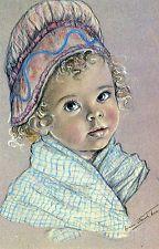 CPA . Les Enfants Normands de MARIE CLAUDE MONCHAUX . bébé normand
