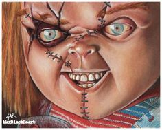 8x10 print Chucky   Charles Lee Ray childs play by MaxBlackHeart
