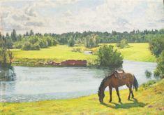 Cavallo 2009 #oliosutela #artwork #quadrisucommissione #mariakarelina #russia Russia, Artwork, Painting, Art, Work Of Art, Auguste Rodin Artwork, Painting Art, Paintings, Drawings