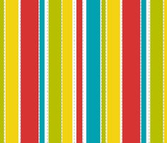 little bird stripe fabric by lbdavidson on Spoonflower - custom fabric