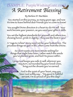 A Retirement Blessing: Framed & Personalized Gifts! – PurpleWishingGate… A Retirement Blessing: Framed & Personalized Gifts! Retirement Speech, Retirement Quotes, Happy Retirement, Retirement Cards, Retirement Parties, Retirement Planning, Retirement Sentiments, Retirement Pictures, Retirement Countdown