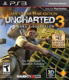 Amazon.com: Uncharted 3: Drake's Deception - Game of the Year Edition - Playstation 3: Video Games