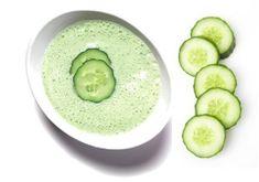 okurkova stava Cucumber, Detox, Herbs, Vegetables, Ethnic Recipes, Masky, Food, Herb Garden, Diy