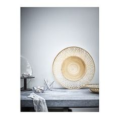 IKEA - VIKTIGT, Dish, Fill the dish with decorations or fruit, or use it alone…