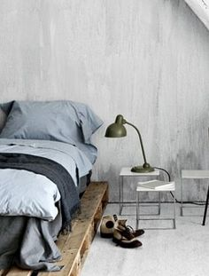 Pallet Furniture. I would have no problem with this bed. I'd make a headboard.