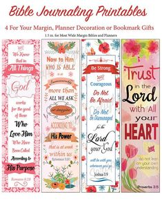 BIble Journaling Margin Strips And This Post Explains The Common Things People Misunderstand About Bible Biblejournaling Freebie