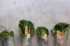 Wintery Spring Rolls via 101 Cookbooks