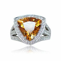 And here is one more attractive colorful gem stone ring - Parris Jewelers, Hattiesburg, MS #gemstones