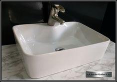 Lavoar pe blat Aldor 48 x 37 cm cu orificiu baterie Sink, Home Decor, Sink Tops, Vessel Sink, Decoration Home, Room Decor, Vanity Basin, Sinks, Home Interior Design