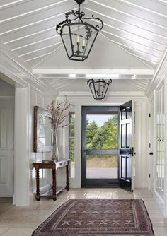 Entry//Houzz - black door
