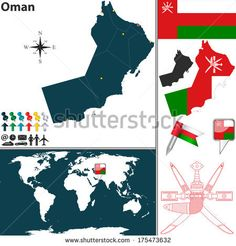 Emblem of oman Oman Pinterest