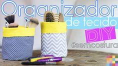DIY - Organizador de tecido | Faça você mesmo