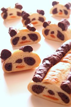 Another panda bread