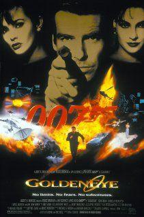 James Bond: Golden Eye (The first 007 movie starring Pierce Brosnan as James Bond)