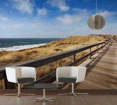 Awesome Blick aufs Meer auch zu Hause mit unseren Fototapeten Livingwalls Fototapete Sylt Strand
