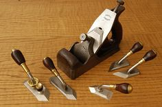 Chisel Planes with Norris plane for scale