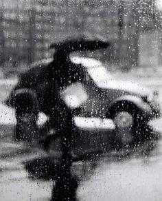 """Sabine Weiss, """"Rainy Day""""     (c. 1950)"""