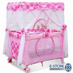 Baby On Pinterest Canopy Crib Playpen And Baby Girl Cribs