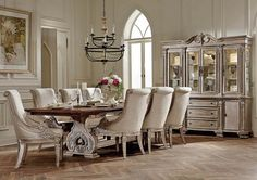 Not A DIY...but A Beautiful Inspiration. Orleans Antique White Dining Table