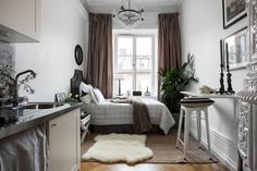 65 simple micro apartment layout ideas on a budget (65)