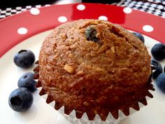 Macke Monologues: Honey Coconut Blueberry Bran Muffins - these are so good! Makes the perfect breakfast.