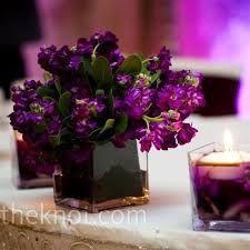 Real Weddings - purple wedding-ideas-for-amber Flower Centerpieces, Wedding Centerpieces, Wedding Decorations, Purple Centerpiece, Centerpiece Ideas, Table Centerpieces, Purple Wedding Flowers, Beautiful Flowers, Purple Color Schemes