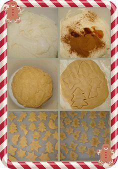 karamella: Χριστουγεννιάτικα μπισκότα κανέλας Christmas Cookies, My Nails, Skincare, Ice Cream, Nail Art, Desserts, Blog, Recipes, Xmas Cookies