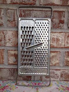 Sale - Vintage All in One Grater - Pat Pending - 4 Grating Styles on Etsy, $3.25