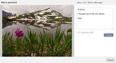 Facebook Mail A Postcard
