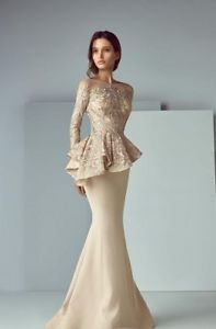 Details about Arabic Formal Peplum Champagne Evening Gown Delivery In About 28 Days Formal Evening Dresses, Formal Gowns, Elegant Dresses, Formal Wear, Maxi Dresses, Afternoon Dresses, Amazing Dresses, Dressy Dresses, Long Dresses