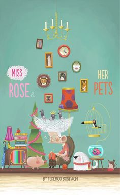 40  Illustrations for Children Book Covers