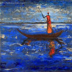Michel RAUSCHER   Paintings - Huile sur toile - Sans titre-40x 40