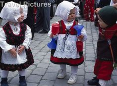 NORWAY: Children in national costume. Bergen.