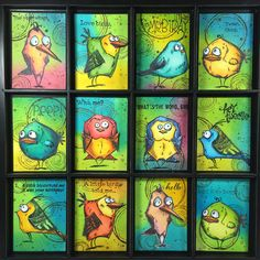 Bird Crazy.  http://jillscreativeimagination.blogsspot.com