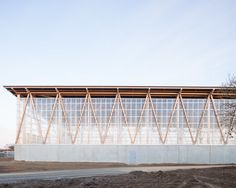 DLW-architectes, Francois Dantart · Waste, recyling and repair centre
