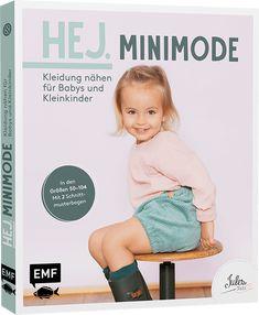 Für kleine Helden – Kindermode aus Webware Einfach mal was anderes nähen – manchmal muss es mehr als Jersey sein. Julika Landermann, Gründerin des Labels JULESNaht, präsentiert in ihrem Buch tolle Kindermode aus Webstoffen zum Selbernähen. Die einfach zu nähenden, praktischen Baby- und Kleinkindmodelle wie Kleid, Hemdchen und Strampler sind auch für Näheinsteiger geeignet. Die … Baby Overall, Learn To Sew, Kind Mode, Overalls, Learning, Cover, Fabric, Shopping, Clothes