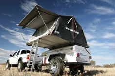 Expeditions West: Adventure Trailers: Chaser Off-Road, Expedition Tent Trailer