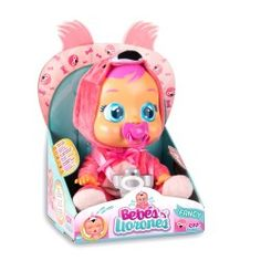 Purchase online the Cry Babies - Fancy, baby dolls today! We have all the latest toys and accessories your little one could ask for. Fancy, Girl Hair Colors, Baby Doll Toys, Baby Alive, Doll Eyes, Baby Coming, Crybaby, More Fun, Toy Chest