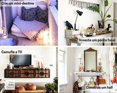 Mudar a posição dos móveis é o jeito mais fácil de renovar seu espaço sem gastar nada. Mudanças de layout tem o efeito poderoso de uma reforma. Eu provo.
