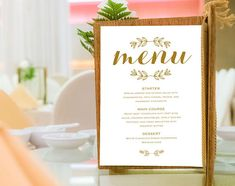 Your place to buy and sell all things handmade Rustic Wedding Menu, Wedding Dinner Menu, Wedding Rsvp, Blue Wedding, Blue Menu, Wedding Menu Template, Menu Cards, All Design, Place Card Holders
