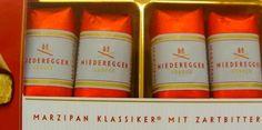 Niederegger Schwarzbrot, Marzipan Mit Zartbitter- Schokolade:   Chocolate covered marzipan