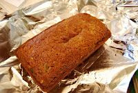 Zucchini Applesauce Bread - Fewer calories but incredible taste.