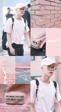 Jin pink aesthetic!❤️ #selfmade