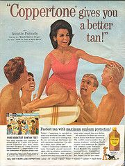 Annette Funicello for Coppertone