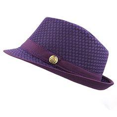 bf373e5849ef7 THE HAT DEPOT 200G1015 Classic Cool Soft Mesh Fedora hat ... https