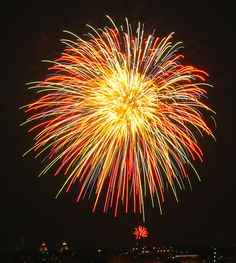 Fireworks #1 by Camera Slayer, via Flickr