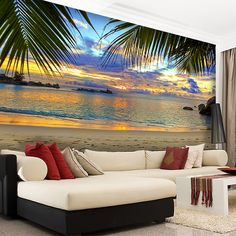 Atardecer playa Wall Stickers. Discover the best selection of wall stickers! You will find hundreds of models in MuralDecal. Enter now! Satisfaction guaranteed.