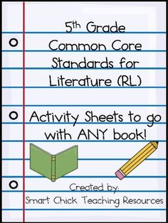 5th Grade Common Core Sheets for ANY TEXT! (Standards for Reading) **I like this! May actually buy something on one of these sights.