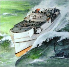 """German  WW2 """"Schnellboote Type S-100"""""""