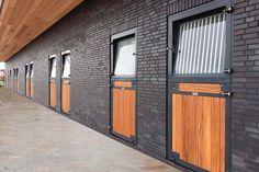 Brick horse barn